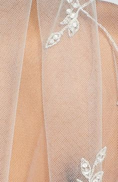 Wedding Belles New York 'Chanson' Embroidered Cathedral Veil | Nordstrom