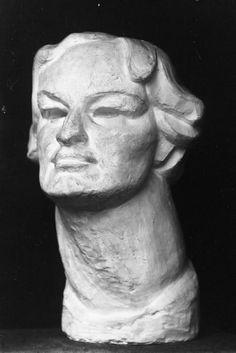 Bust of Enid Bagnold by Henri Gaudier-Brzeska