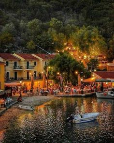 Kioni, one of the prettiest villages in Ithaki, Ionian, Greece - Travel Trends Beautiful Islands, Beautiful World, Beautiful Places, Places Around The World, Around The Worlds, Ithaca Greece, Myconos, Greece Islands, Greece Travel