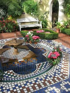 Courtyards Gardens on Pinterest Courtyards Morocco