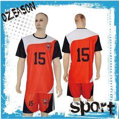 1d8a3275f8d 2016 rojo blanco importado diseñe su propia camiseta de fútbol para la  venta-en Equipación