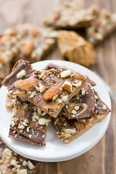 Peanut Butter Almond Roca Photo