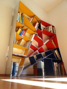 A Modern Alucobond Bookshelf Designed in Grasshopper