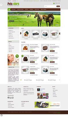 OPC070153 - Responsive OpenCart Pet Store Template