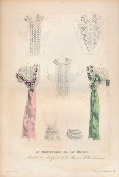 [Móda] Le Moniteur de La Mode XXIX.; litografia - - virtuálny antikvariát na Antikvariatik.sk