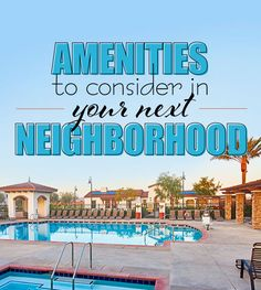 Pools, parks and golf, oh my! Community amenities are a key consideration when buying a new home: check out our guide to some of the most popular ones. Richmond American Homes, Destin Resorts, Community Activities, Real Estate Articles, Buying A New Home, Real Estate Search, Resort Style, Social Events, Private Pool
