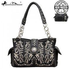 Montana West MW37G-8085 Western Concealed Carry Handbag