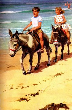 Always wanted to go on a donkey ride at the seaside