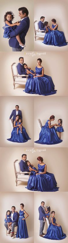 Formal Fine Art Family Portraits | Black Tie Portraits