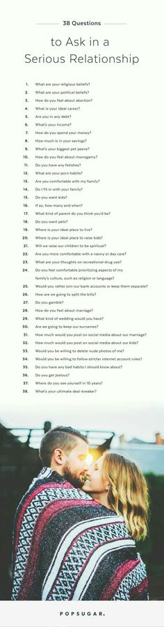 Do NOT Commit to a Serious Relationship Until You Ask These 38 Questions Ahead are 38 questions to ask your significant other as the stakes are raised in your partnership. Note: these range from mildly uncomfortable to a little, sort of, somewhat, totally Relationship Questions, Serious Relationship, Marriage Relationship, Marriage Tips, Quotes Marriage, Funny Marriage, Relationship Pictures, Relationship Problems, Relationship Repair