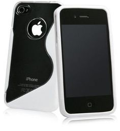 Apple iPhone 4S/iPhone 4 S-Line Hybrid Case (White)