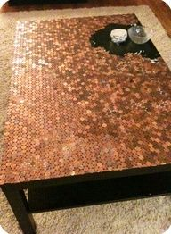 Penny table DIY instructions
