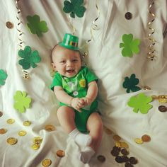 My baby.Best St.PATRICK'S DAY PIC