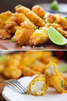 Iscas de Frango suculenta e crocantes! - Monta Encanta Empanadas, Food And Drink, Ethnic Recipes, Fat, Chicken Treats, Crispy Fried Chicken, Battered Fish, Barbecue, Rice