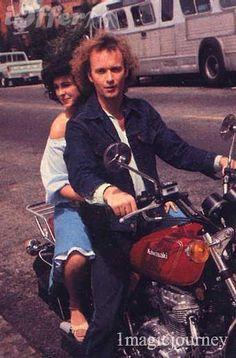 Luke & Laura during the left-handed-boy summer fiasco...