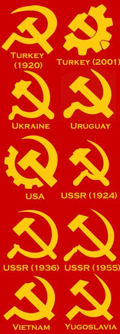 10 variations of sickle and hammer Communist Propaganda, Propaganda Art, Anti Capitalism, Communism, Cover Design, Hammer And Sickle, Alice And Wonderland Quotes, Socialist Realism, Anarchism