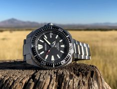 """Seiko recently released a line of Seiko Prospex Divers heavily inspired by 2004's Seiko """"Samurai."""" Here's our review of the Seiko Prospex Samurai SRPB51 watch."""