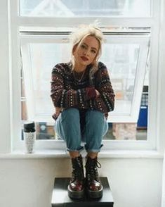 chic fall outfit ideas you'll absolutely love page 10 Retro Outfits, Girly Outfits, Grunge Outfits, Grunge Fashion, Stylish Outfits, Winter Outfits, Cute Outfits, Fashion Outfits, Womens Fashion