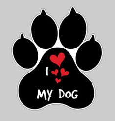 i love my dog animal foot paw print button badge – paw prints – dibujo Love My Dog, Paw Print Art, Dog Paw Prints, Dog Wallpaper, Dog Crafts, Dog Tattoos, Dog Paws, Dog Quotes, Dog Shirt