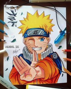 Reposted from ( - 🍥Uzumaki Naruto🍥 Drawing is finished, I'm glad its finished What do you think ?Let me know in the comments 📝 . Naruto Sketch Drawing, Naruto Drawings, Girl Drawing Sketches, Girly Drawings, Cool Art Drawings, Anime Sketch, Manga Naruto, Naruto Uzumaki Art, Naruto Painting