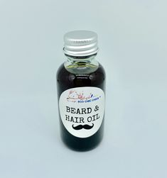 BEARD & HAIR OIL 1 oz. —————————————————— This oil is formulated for nutrition & styling of hair, mustache & beard.    MAIN INGREDIENTS ——————————- Organic pumpkin oil promotes hair and beard growth. Organic peppermint oil can help stimulate hair growth because of its ability to increase blood circulation.  Organic jojoba oil is filled with vitamin C, E & B. It is high in zinc & copper. It is rich in nourishing vitamins & minerals. It helps strengthen your hair. It has antiseptic properties… Neem Oil, Jojoba Oil, Beard Growth, Hair Growth, Pumpkin Oil, Beard No Mustache, Beard Oil, Hair And Beard Styles, Hair Oil
