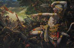 Hanuman ky Jay!!! Hanuman attack Lanka