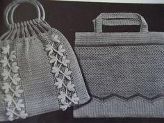 1935 Crochet Bag Purse Booklet