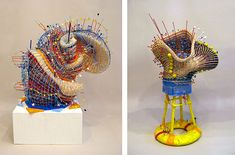 Nathalie Miebach Weather Data Sculptures