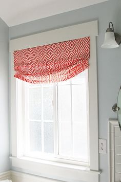 Diy No Sew Faux Roman Shade Our Fifth House Faux Roman
