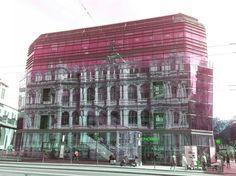 Reflets Lyon, Multi Story Building, Lens Flare
