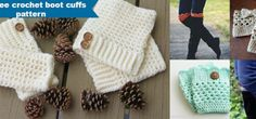 30+ free crochet boot cuffs pattern by jennyandteddy
