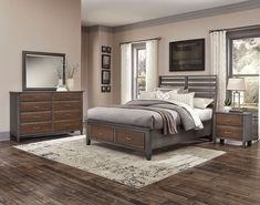 The Commentary (Steel and Oak) Benchback Storage Bedroom Set by Vaughan-Bassett Furniture is 100 percent crafted in the United States by American employees. It consist of wood solids and wood veneers…More Bedroom Storage For Small Rooms, Ikea Bedroom Storage, Bed Storage, King Bedroom Sets, Queen Bedroom, Kids Bedroom Furniture, Bedroom Ideas, Gray Furniture, Kitchen Furniture
