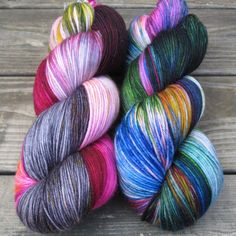 Perfectly Wreckless - Yowza - Babette | Miss Babs Hand-Dyed Yarns & Fibers, Inc.