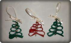Mart Zipper, Drop Earrings, Christmas, Jewelry, Fashion, Recycling, Xmas, Moda, Jewlery