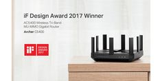 TP-Link®, a leading global provider of consumer and business networking products, has been named one of the winners of the 2017 iF Design Awards, one of the world's most celebrated and valued design competitions. Among the 5,575 entries from companies in 59 countries, TP-Link received honors for two products: the AC5400 Wireless Tri-Band MU-MIMO Gigabit …