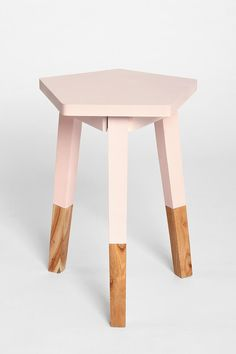 Plum & Bow Pentagon Dipped Side Table - Urban Outfitters