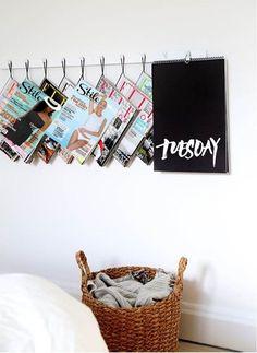 Easy Storage Ideas Using Basic Hooks   Apartment Therapy