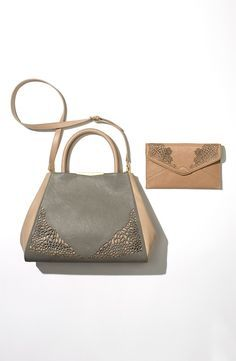 Love the lace detail on these bags