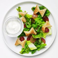 20 Kid-Friendly Veggies: Butterfly Salad (via Parents.com)  another healthy recipe for my kids to try