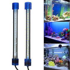 Aquarium Waterproof LED Light Bar Fish Tank Submersible Down Light Tropical Aquarium Product 5W 50CM