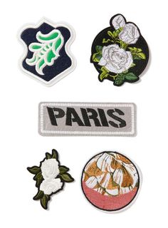 Paris Iron On Badge Pack* - Trending Now - New In - TOPMAN EUROPE