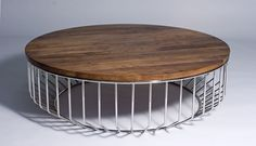 Phase Design | Reza Feiz Designer | Wired Coffee Table - Phase Design, round | Reza Feiz Designer