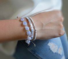 Dámský stahovací náramek BRYXI - chalcedon NA0593 | BRYXI shop.cz Bangles, Bracelets, Jewelry, Fashion, Bangle Bracelets, Bangle Bracelets, Jewellery Making, Moda, Jewerly