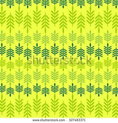 Seamless pattern with brightly colored leaves. - stock vector