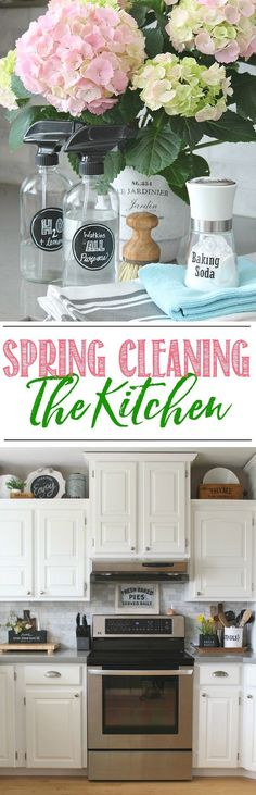 Kitchen Spring Clean