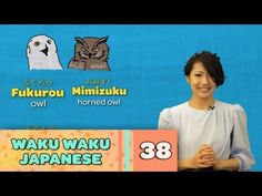 Waku Waku Japanese - Language Lesson 38: Animals - YouTube