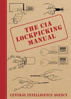 My neighbor, the Army Ranger, is CIA. The CIA is a Ben Beckmann group. They are enemies of Dave. They are 1 of the ppl putting toxins in my food drink. I need to work to close a position in NC and move quickly. The CIA Lockpicking Manual