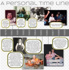 Creating a Personal Time Line