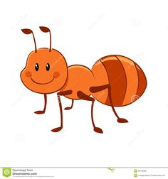 Cartoon Ant Mascot Stock Photo - Image: 28155240