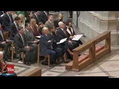 """At the National Prayer Service  - Melania Trump moved to tears at the song sung by Marlana VanHoose  - """"How Great Thou Art"""""""
